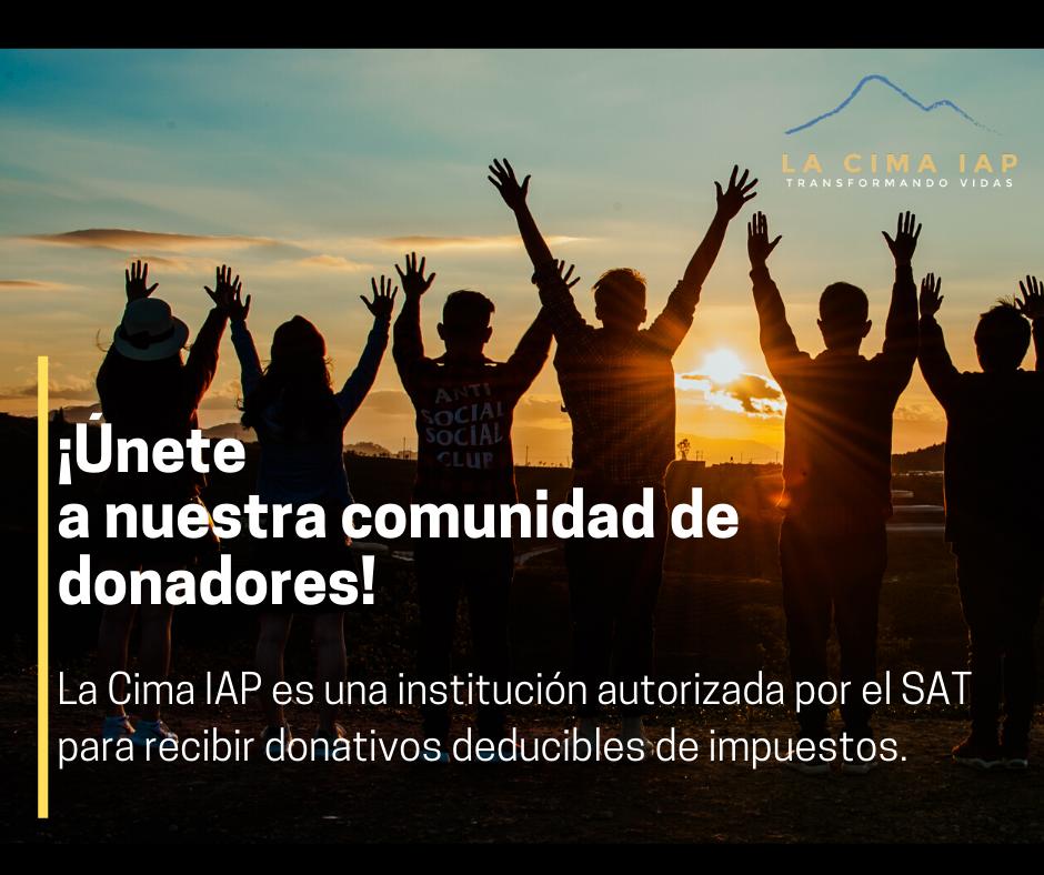 El SAT nos dio es estatus de Donataria Autorizada